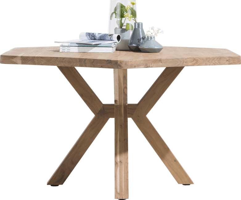 Henders & Hazel Quebec Esstisch 150x130 mit Holzfuß