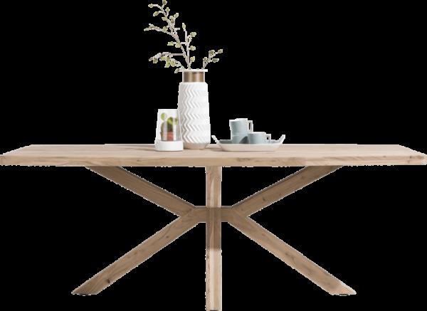 Henders & Hazel Quebec Esstisch 180x100 mit Holzfuß