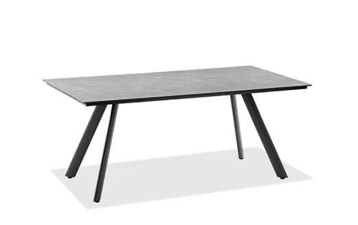 Gartentisch Noah Alu/Zement-Optik Stativprofil versch. Größen